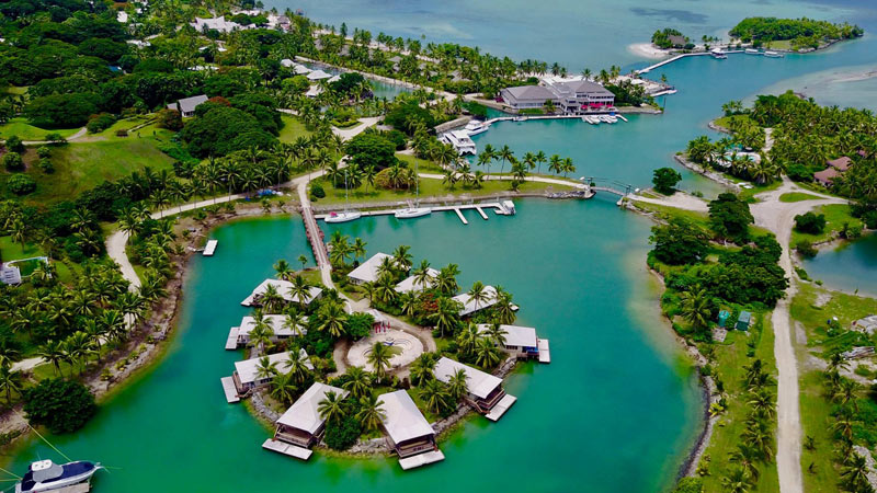 Musket Cove Island Resort offers a relaxed Fiji vacation