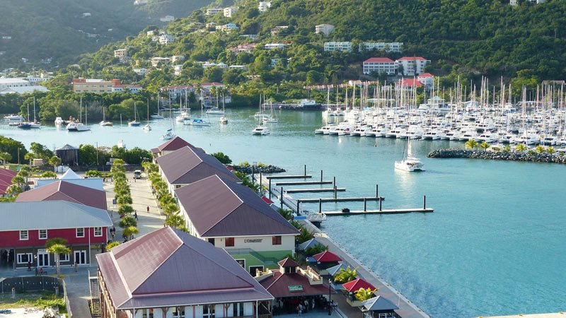 Road Town, Tortola, is one of the island stops on our Viking Ocean Cruises' Caribbean trip