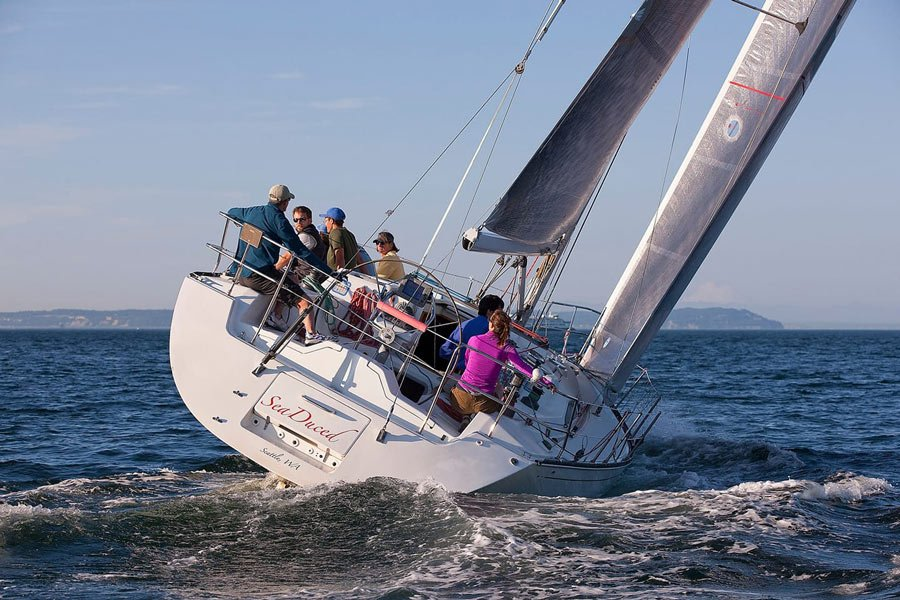 The international Swiftsure race has multiple courses