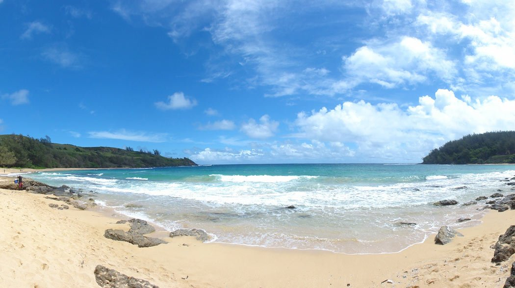 There are many wonderful beaches in Kauai!