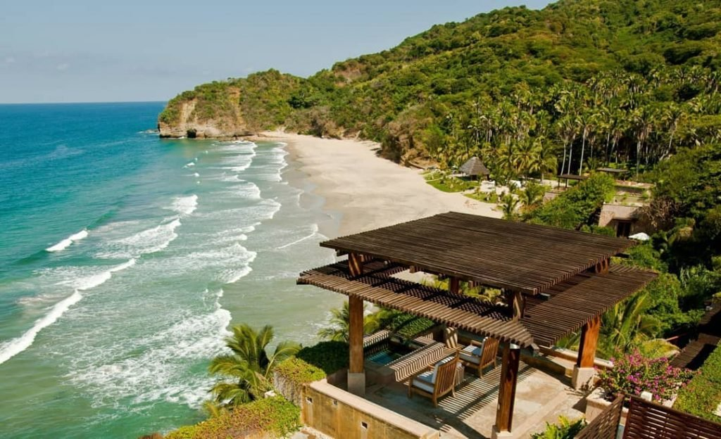 One of the best Punta Mita hotels, Imanta sits on its own private beach in splendid seclusion