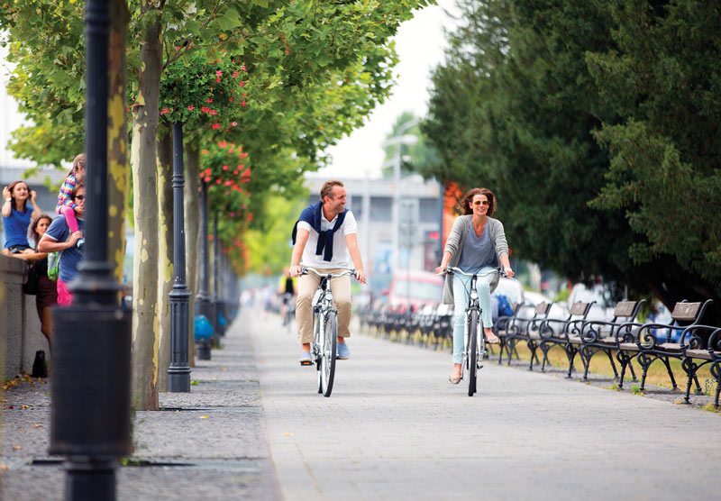 Bicycling on a river cruise with Emerald Waterways
