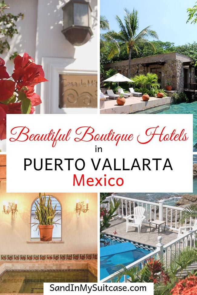 Travel guide to the best boutique Puerto Vallarta hotels
