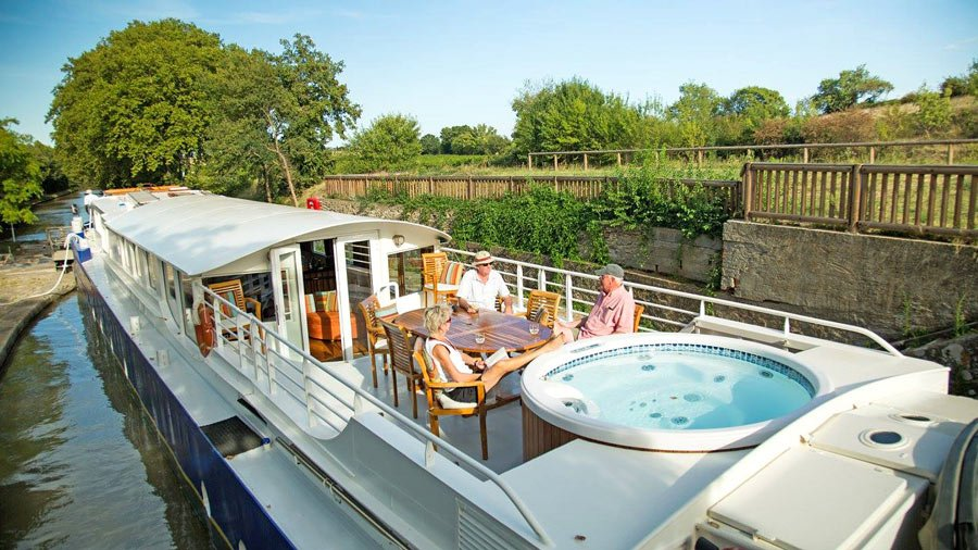 Luxury barging is more intimate than river cruising, and the pace of travel is deliciously slow.