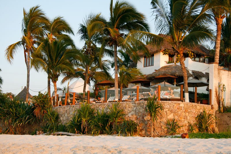 Casa de Mita is one of the nicest Puerto Vallarta hotels on the beach