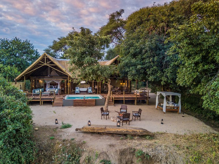 Chiawa's new Safari Suite has its own pool