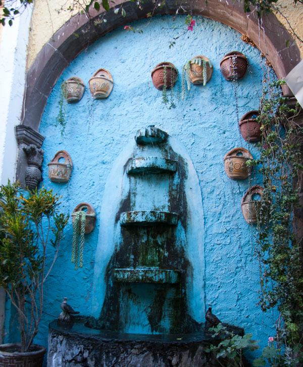 Fountain in San Miguel de Allende