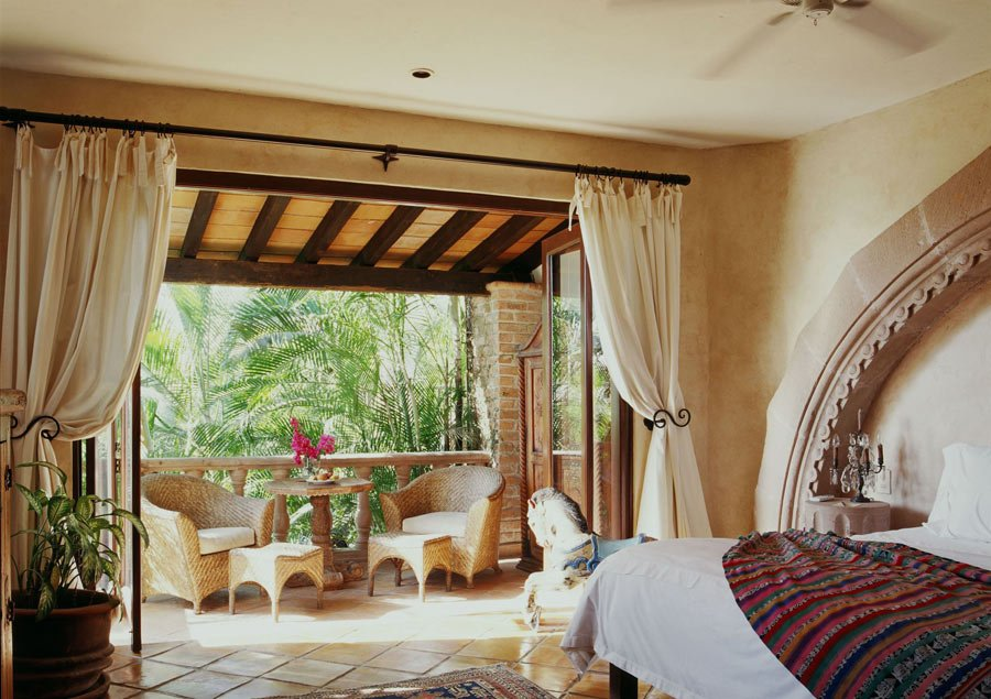 The Garden of Angels suite at Hacienda San Angel