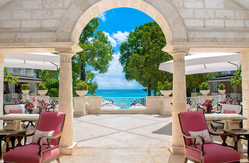The Sandy Lane Resort is perhaps the most deluxe hotel in Barbados