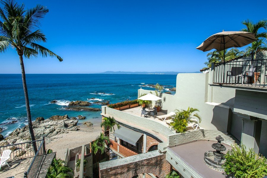 Vida Sol, one of the 3 villas in Casa Tres Vidas in Puerto Vallarta