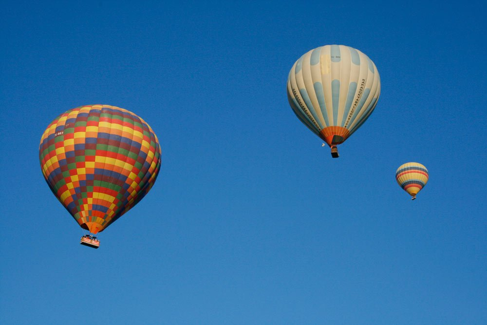Don't miss going on a hot air balloon ride in Cappadocia!