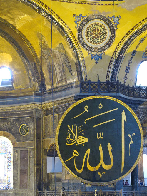 Visiting the Hagia Sophia is one of the best things to do in Istanbul