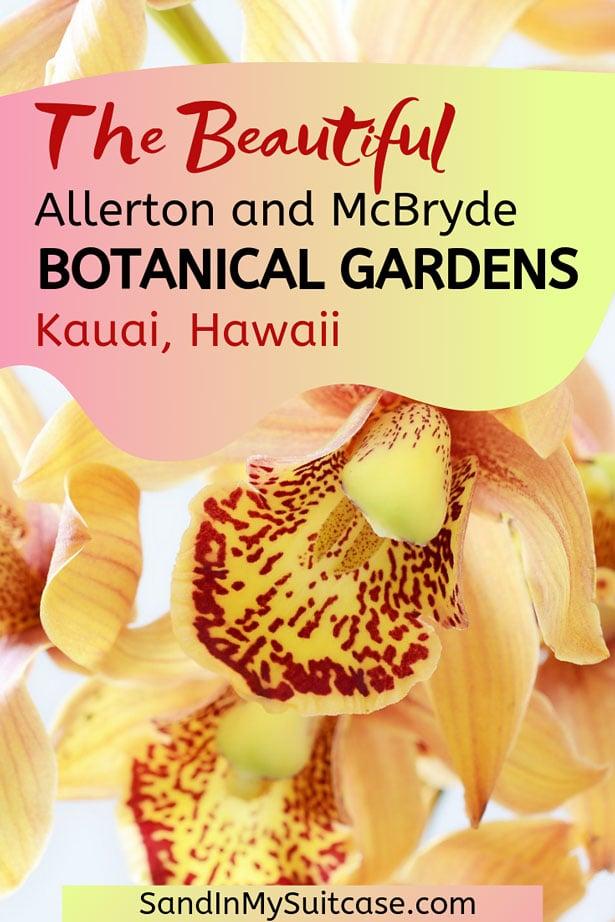 Botanical gardens in Kauai