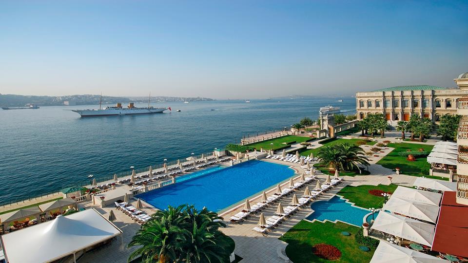The Kempinski hotel in Istanbul