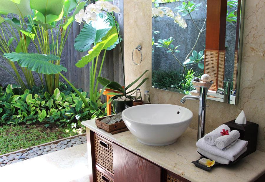 The One Boutique Villas bathroom