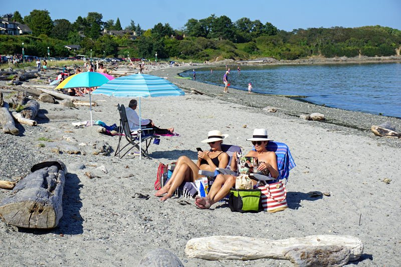 Willows Beach in Victoria, Canada