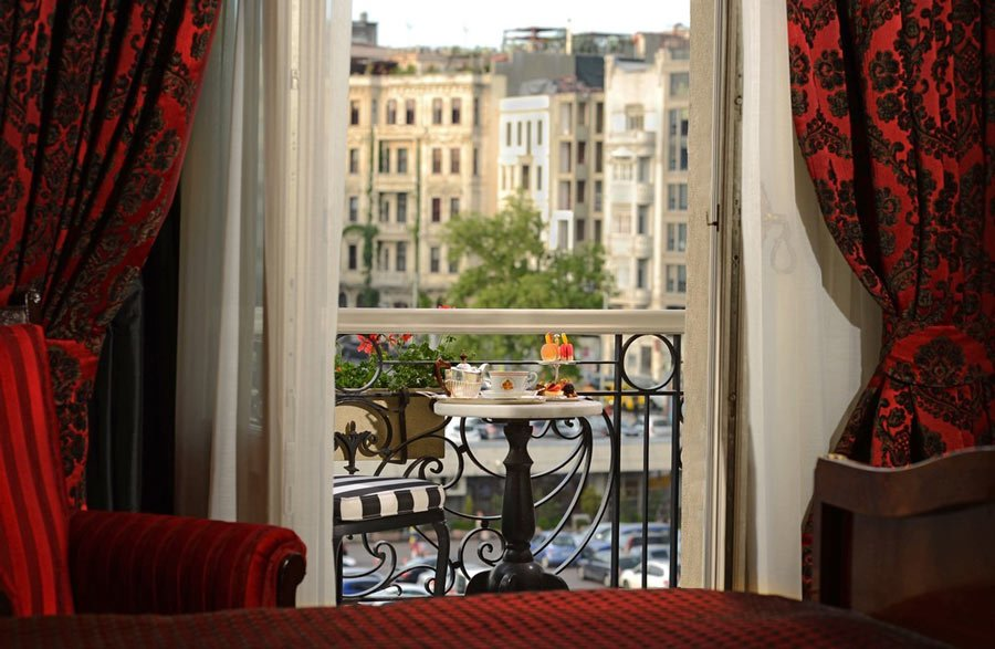 The Agatha Christie room at Pera Palace Hotel, a room with a view