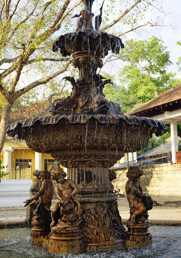 Coffee Planters Fountain in Kandy