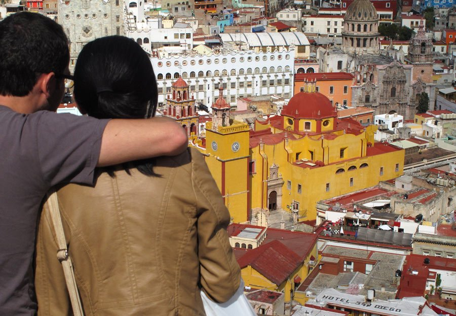 A panoramic view of Guanajuato, one of the best colonial cities in Mexico