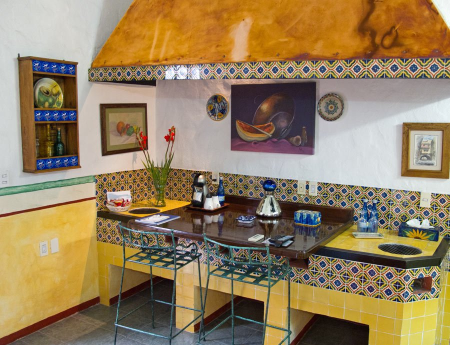 The La Galerena suite at Quinta Las Acacias, Guanajuato, was once the kitchen
