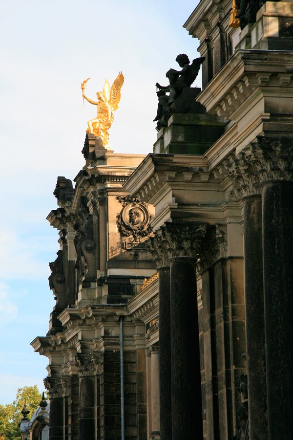 For centuries, the kings of Saxony lived in Dresden, Germany.