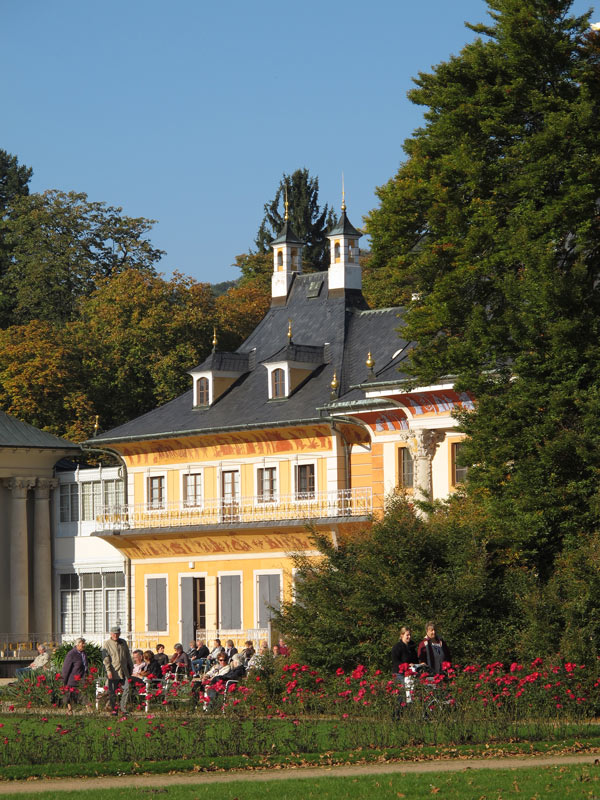 Pillnitz Castle in Dresden was once the summer home of the Saxon royal court