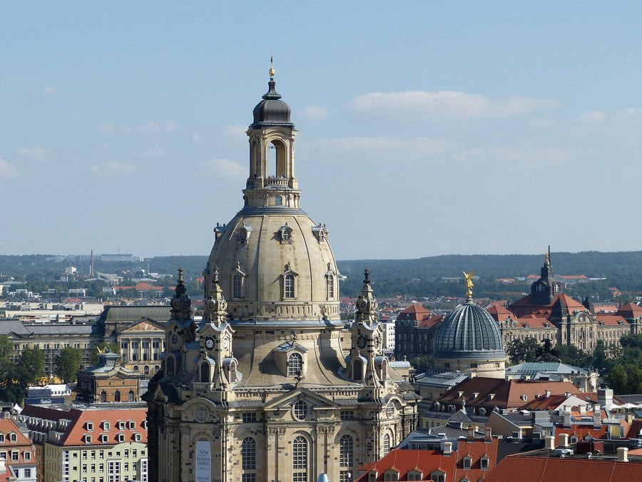 The rebuilding of Dresden's Frauenkirche was financed almost entirely by private donors around the world.
