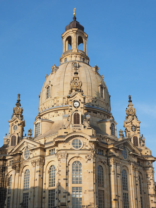 The Church of our Lady is a popular tourist attraction in Dresden.