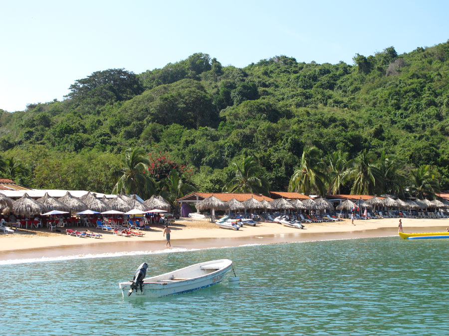 Take a panga to Isla Ixtapa (Ixtapa Island) for snorkeling and a fresh seafood lunch.
