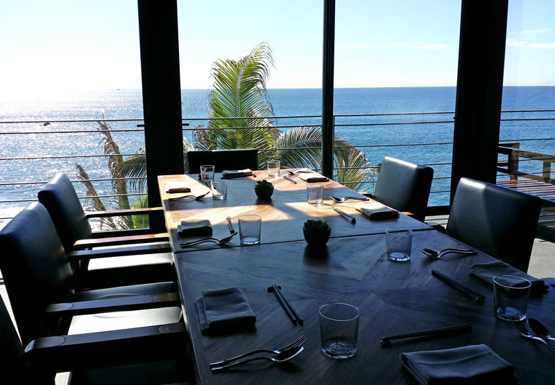 Manta restaurant at The Cape, a Thompson Hotel, in Los Cabos