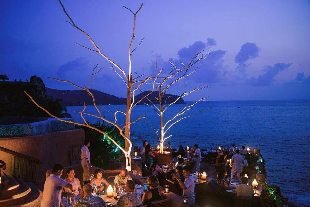 Mar y Cielo is one of the best restaurants in Zihuatanejo