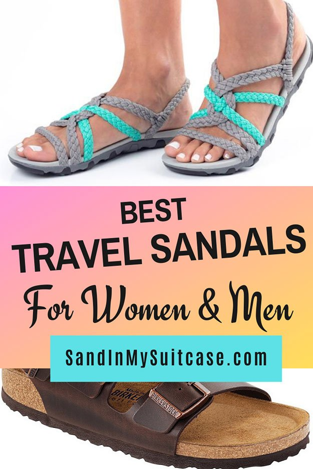 Best travel sandals for men and women