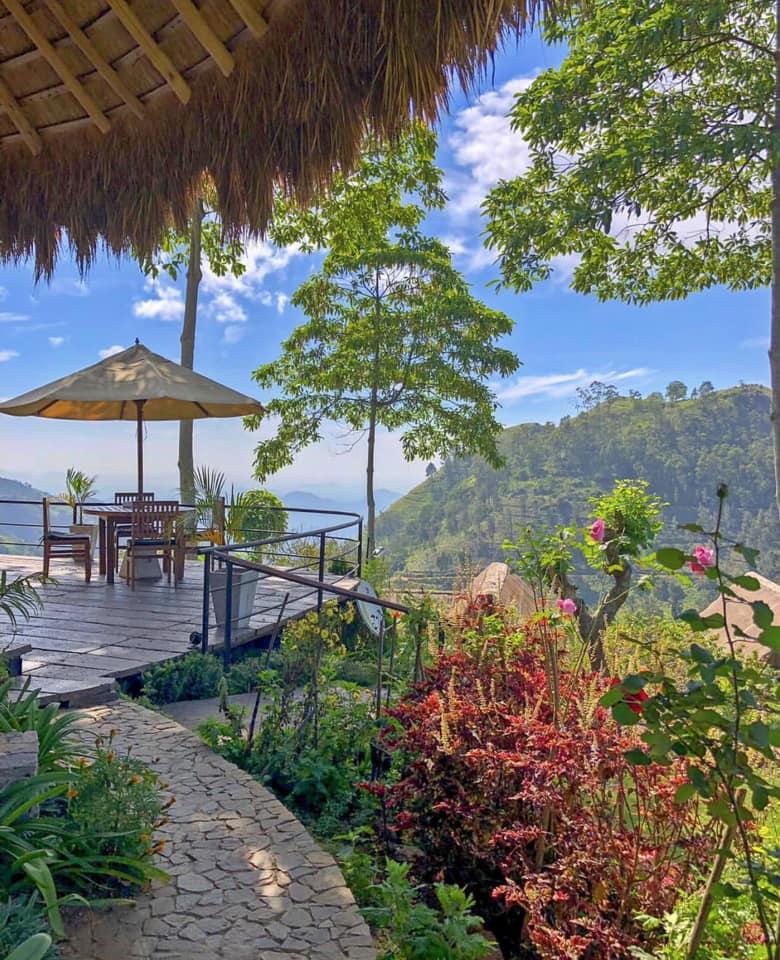 View from 98 Acres Resort, Sri Lanka