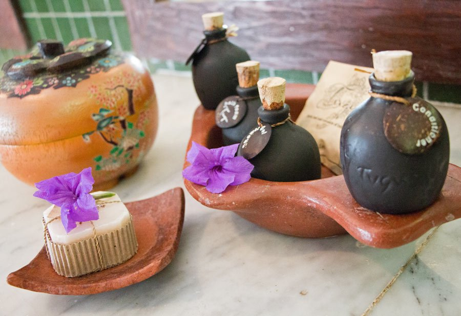 No plastic bath bottles; Hotel Tugu Lombok is eco-friendly