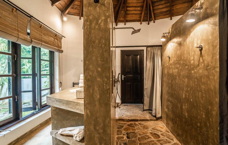Bathroom at The Why House, Sri Lanka