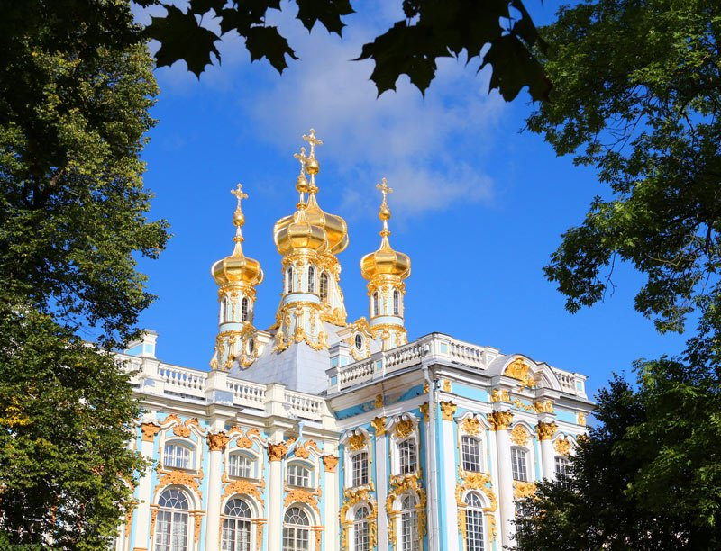 Can you imagine living in Catherine Palace?