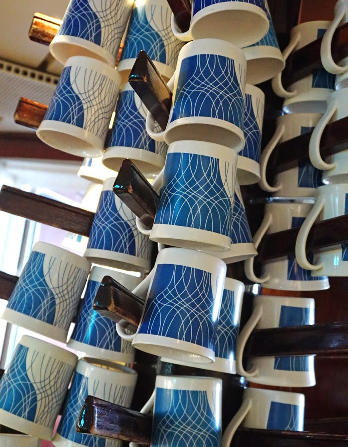 Self-serve coffee and tea are available 24/7 in the Piano Bar on Star Clippers' ships.