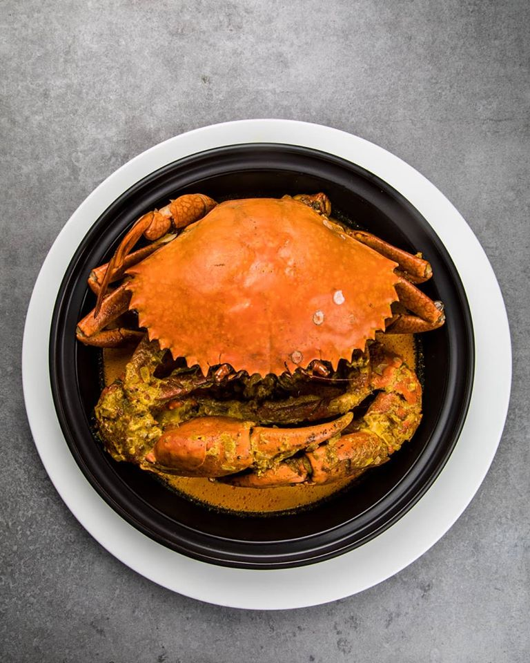 Sri Lankan crab at Kaema Sutra, Shangri-La Colombo