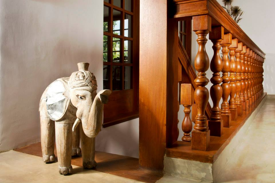 A former colonial-period mansion, The Elephant Stables is one of the top luxury hotels in Kandy.