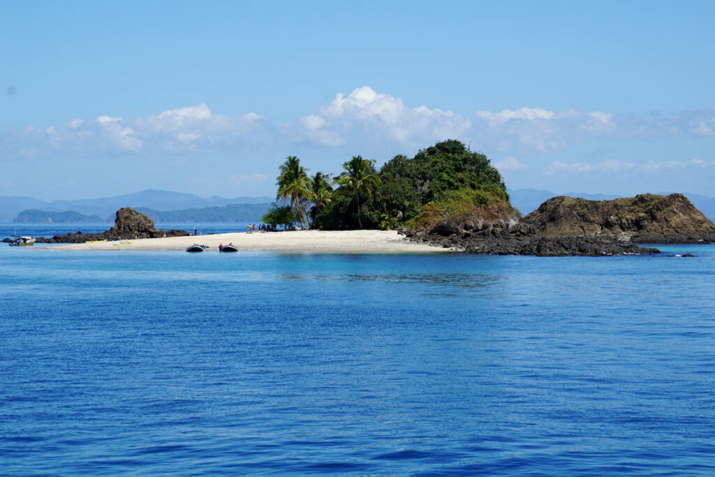 UnCruise Adventures dropped anchor off the tiny islet of Granito de Oro in Panama, where we enjoyed some beach time.