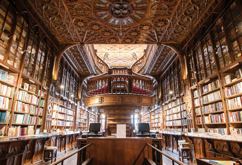 Livraria Lello is one of the world's oldest and most beautiful bookstores