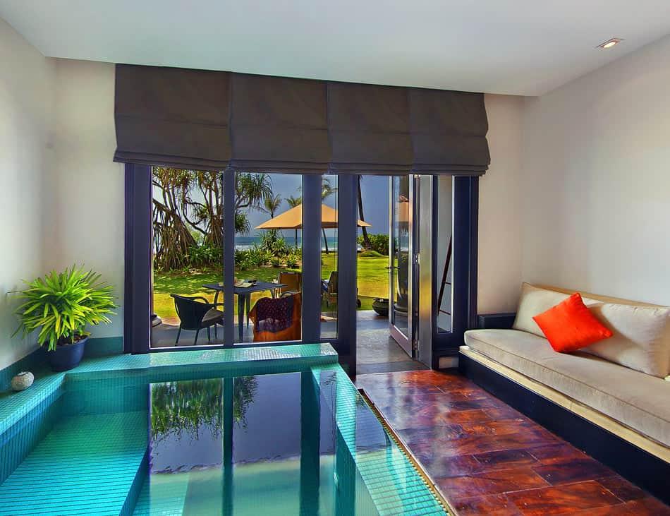 Loft Room at the Fortress Hotel, Sri Lanka