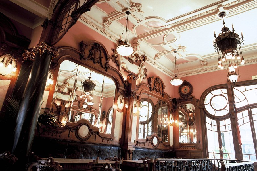 The city's intellectual elite once gathered at the Majestic Café to share ideas.