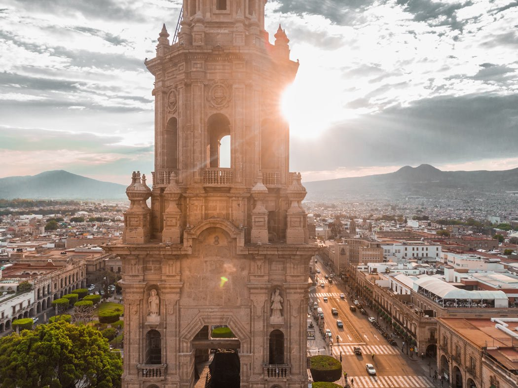 It took 84 years to build the magnificent Morelia Cathedral