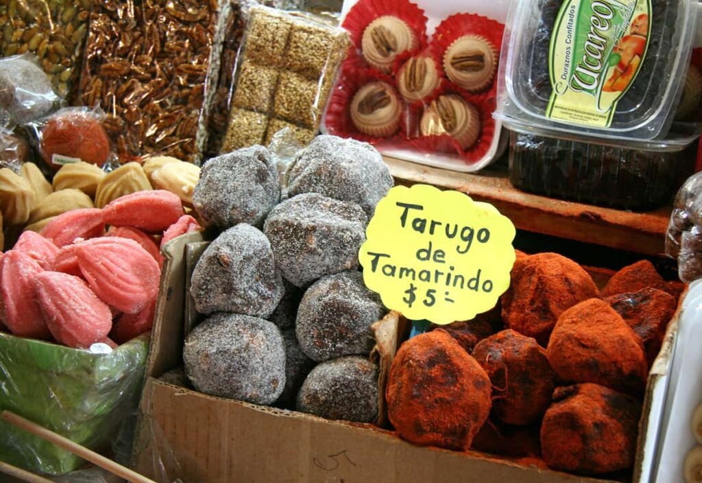You'll find interesting candy at Mercado de Dulces (Morelia's famous candy market).