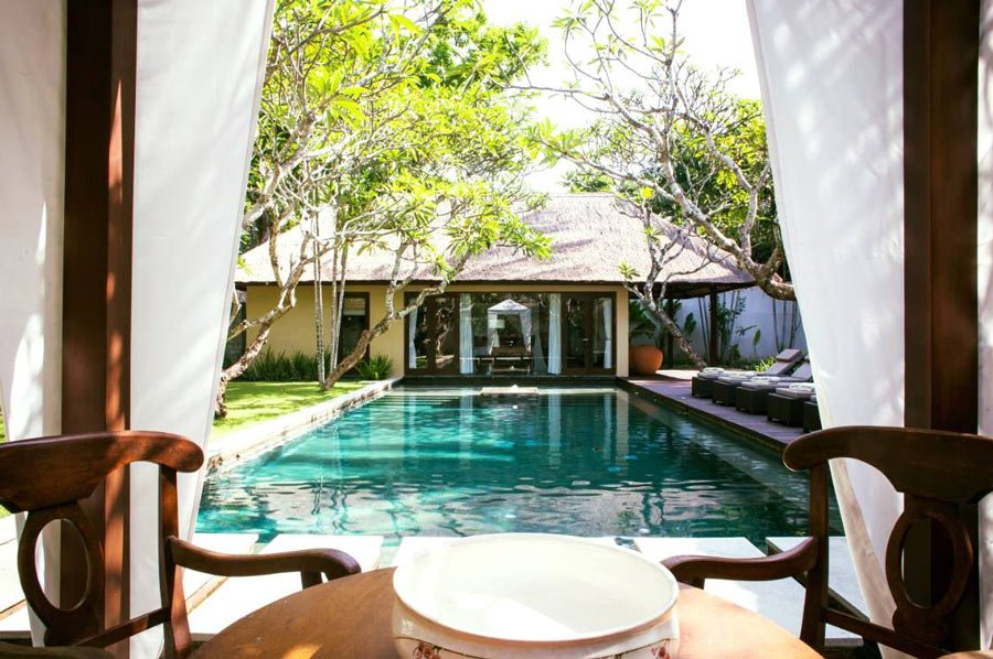 You get a private pool with your villa at Kayumanis Nusa Dua