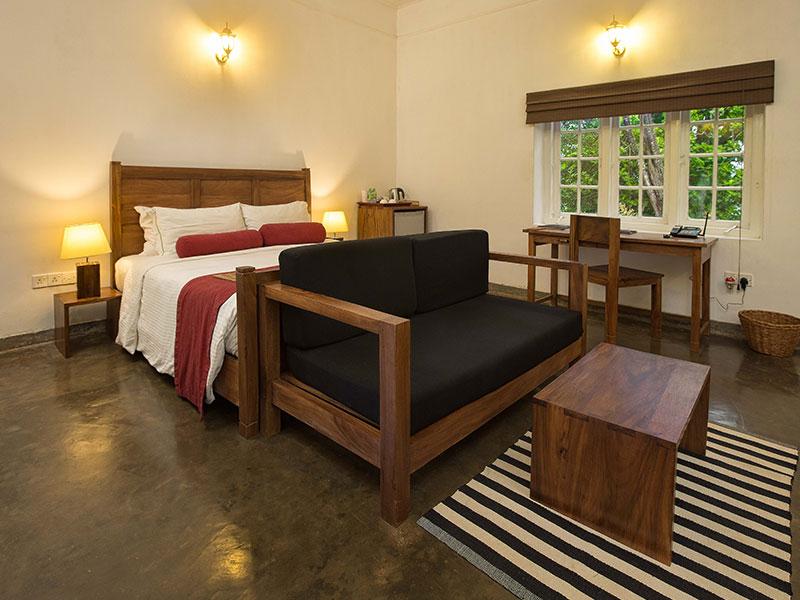 Our bungalow room at The Secret Ella