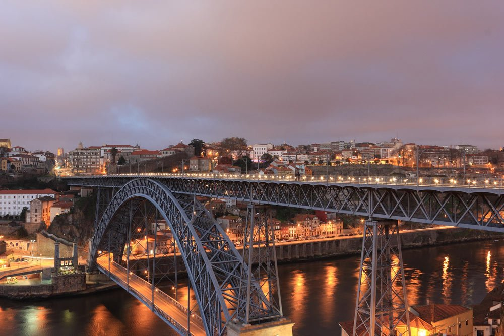 Is Porto worth visiting? Yes. One reason: To walk across the iconic Dom Luis 1 Bridge.