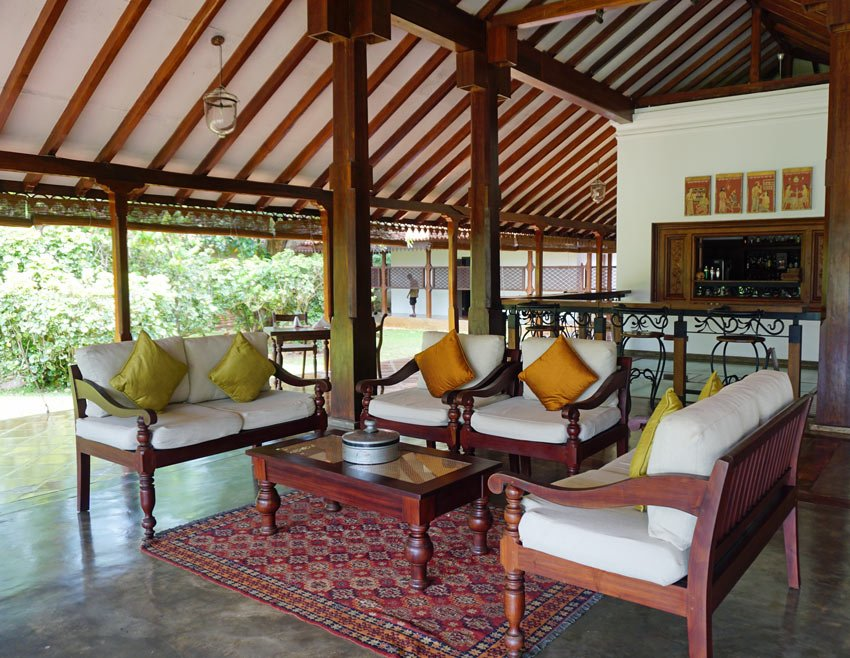 The best Anuradhapura hotel is Ulagalla, built around an old colonial mansion.
