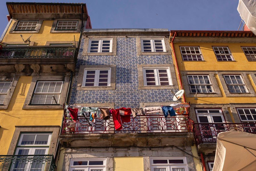 Porto's Old Town is a UNESCO World Heritage Site